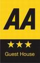 Sonas Guest House has been awarded a 3 star rating by the AA